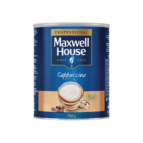 Maxwell House Cappuccino Instant Coffee 750g 4032036