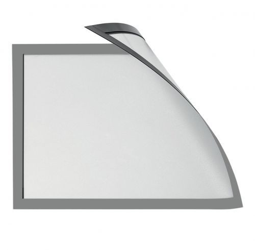 Magiboards Solo Magnetic Paper Holders A3 Grey PK6