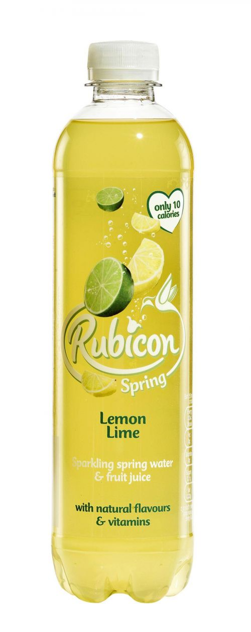 Rubicon Spring Lemon Lime 500ml PK12