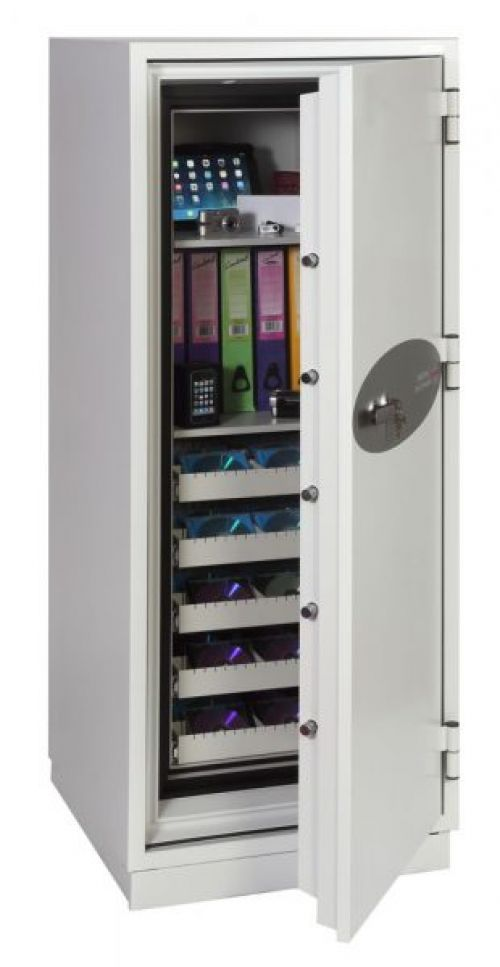 Phoenix Data Commander Size 2 Data Safe with Key Lock