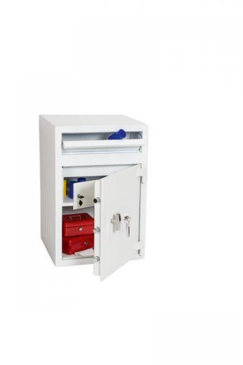 Phoenix Cash Deposit Size 3 Security Safe with Key Lock