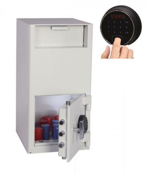 Phoenix Cash Deposit Size 2 Security Safe Fgr Prnt Lock