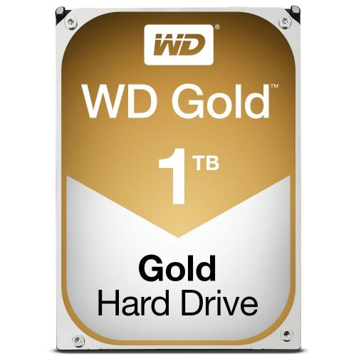 1TB WD Gold SATA 6Gbs 3.5in Int HDD