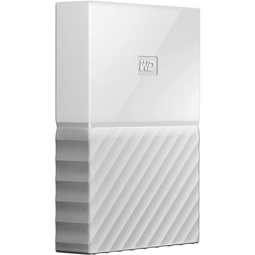4TB My Passport USB3 White 2.5in Ext HDD
