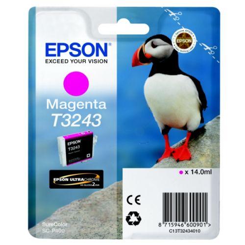 Epson C13T32434010 T3243 Magenta Ink 14ml