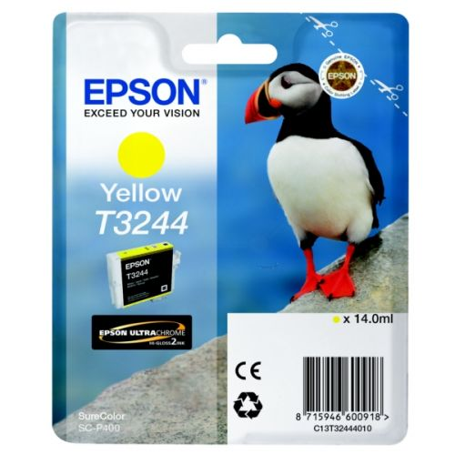 Epson C13T32444010 T3244 Yellow Ink 14ml