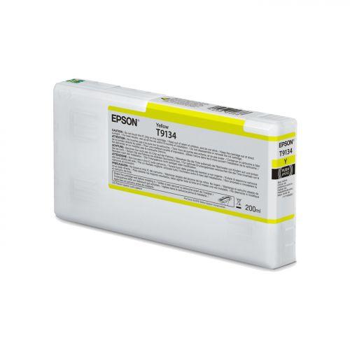 Epson C13T913400 T9134 Yellow Ink 200ml