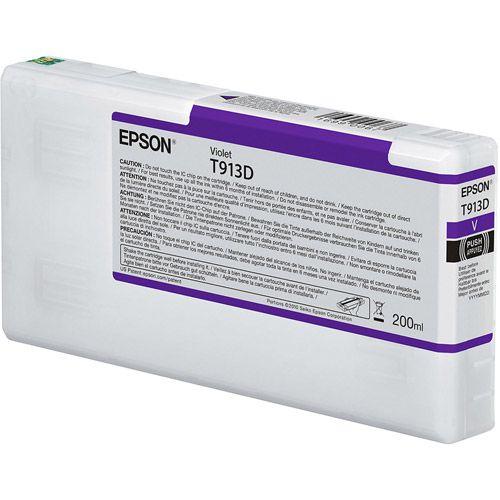 Epson C13T913D00 T913D Violet Ink 200ml
