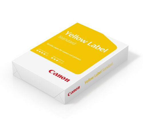 Canon Yell Label Paper A4 80gsm BX5