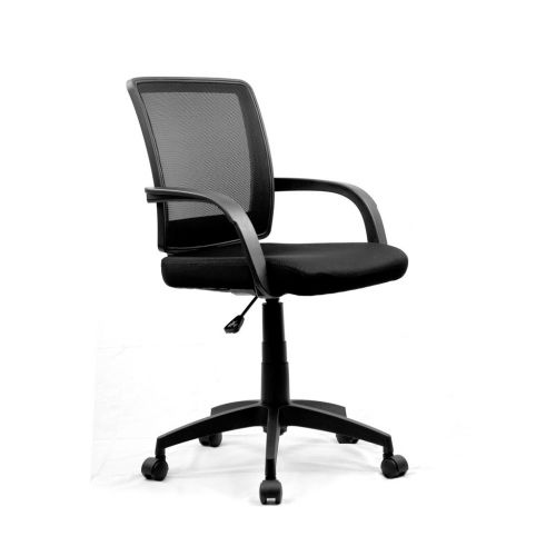 Eliza Tinsley Beta Medium Back Mesh Chair Contoured Back