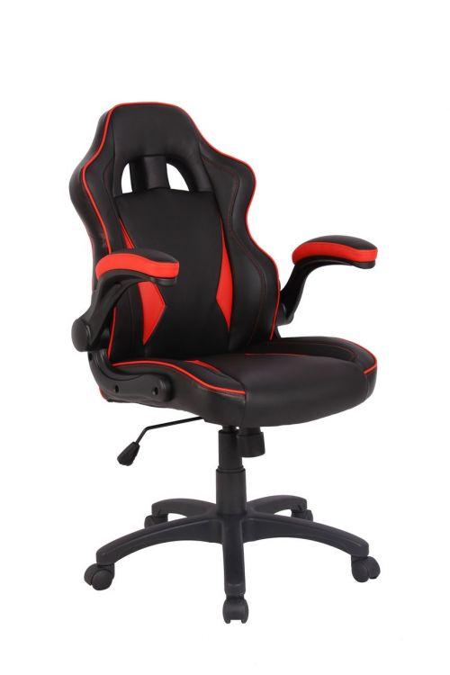 Eliza Tinsley Predator Gaming Style Office Chair Red