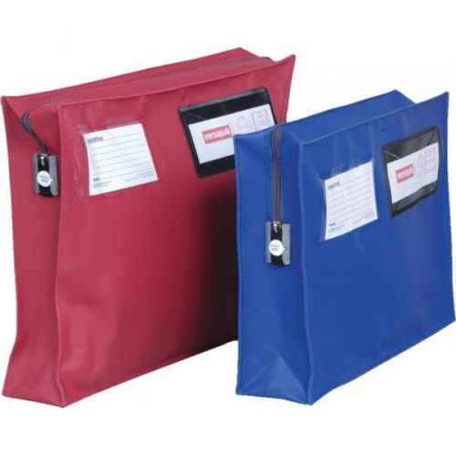Versapak Mailing Pouch With Gusset 406 X 305 X 75mm Red