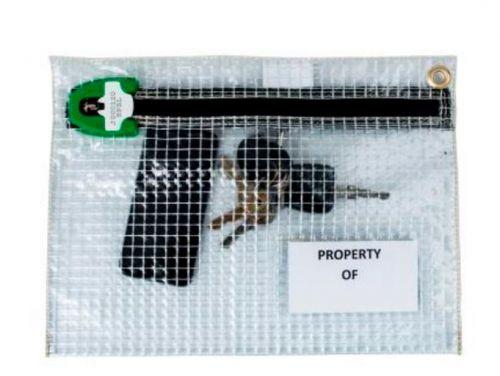 Versapak Personal Effects Security Bag 320 X 230mm Clear
