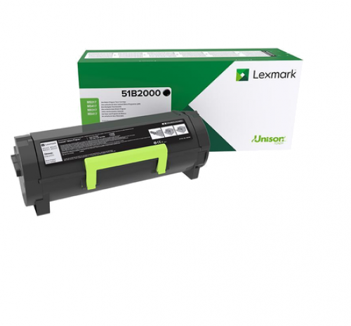 Lexmark 51B2000 Black Toner 2.5K