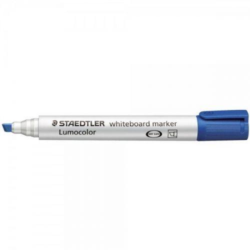 Staedtler Whiteboard Marker Blue Chisel PK10