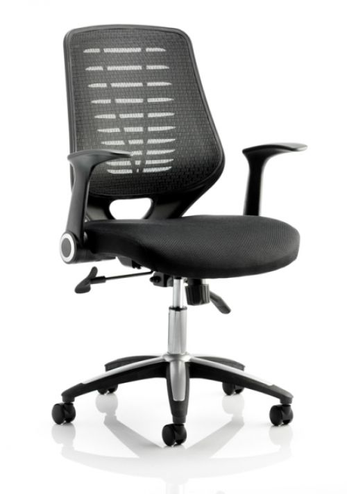 Sonix Relay Mesh Operator Chair Black
