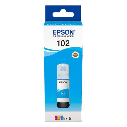 Epson C13T03R240 102 Cyan Ink 70ml