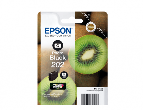 Epson C13T02F14010 202 Photo Black Ink 4ml