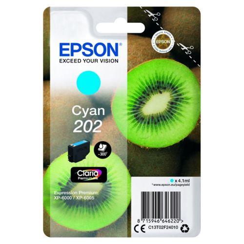Epson C13T02F24010 202 Cyan Ink 4ml