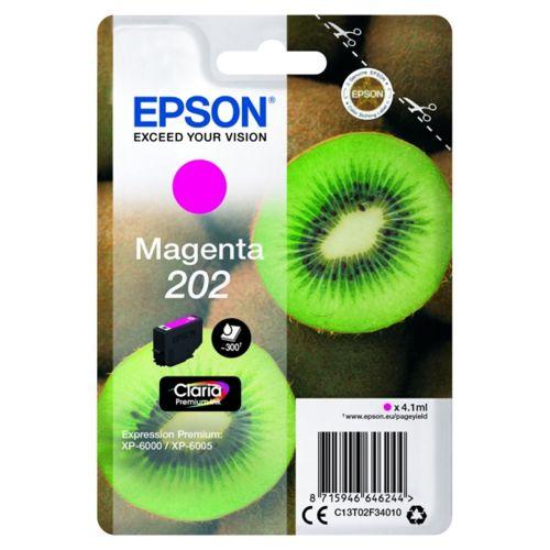 Epson C13T02F34010 202 Magenta Ink 4ml