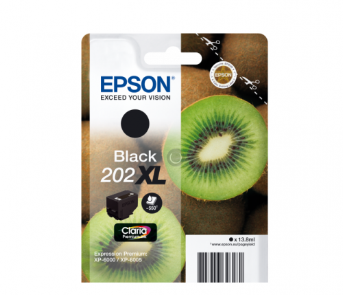 Epson C13T02G14010 202XL Black Ink 14ml