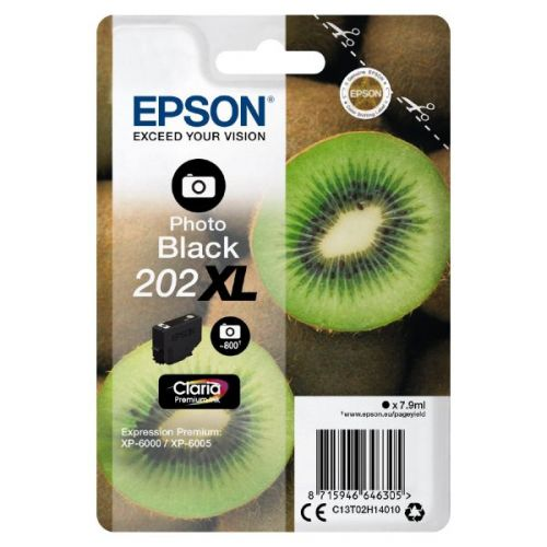 Epson C13T02H14010 202XL Photo Black Ink 8ml