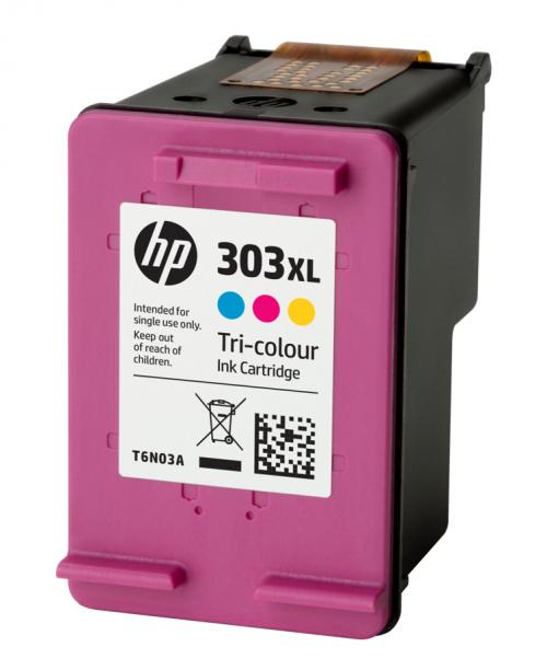 HP T6N03AE 303XL Tricolour Ink 10ml