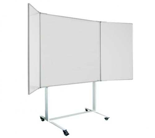 Magiboards Mobile Magnetic Wingboard 120X120cm