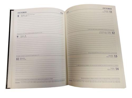 Collins 2019 Wk/Vw A5 Royal Diary 35 Blk