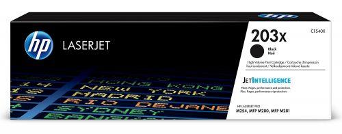 HP CF540X 203X Black Toner 3.2K