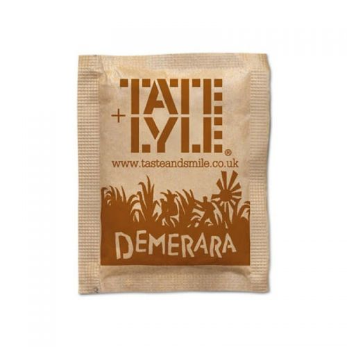 Tate & Lyle Demerara Sugar Sachet PK1000
