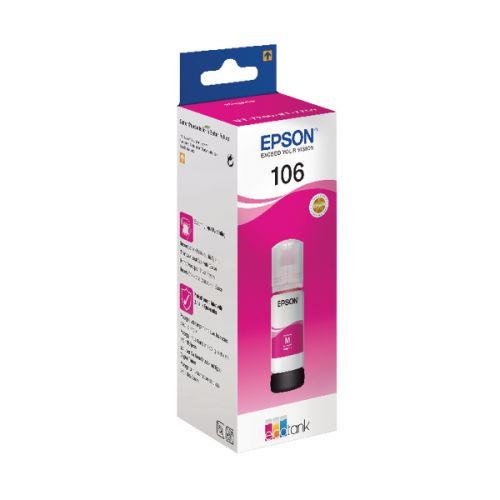 Epson C13T00R340 106 Magenta Ink 70ml