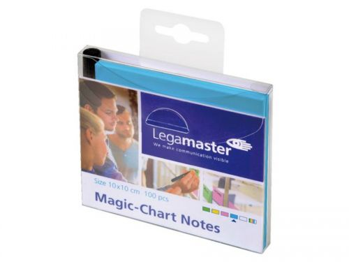 Legamaster Magic-Chart Notes blue 10x10CM PK100