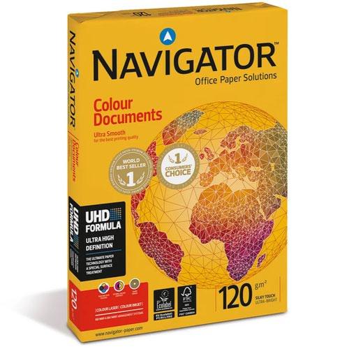 Navigator Colour Documents 120g A4 BX8 reams