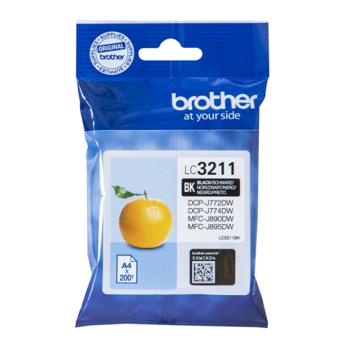Brother LC3211BK Black Ink 15ml