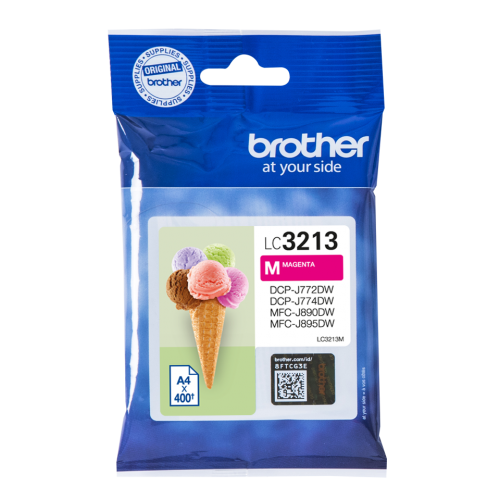 Brother LC3213M Magenta Ink 10ml