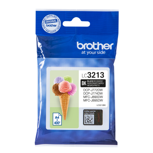 Brother LC3213BK Black Ink 15ml