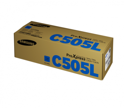 Samsung CLT C505L Cyan Toner 3.5K