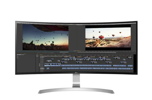 LG 34UC99 W 34in Curved IPS HDMI DP USB