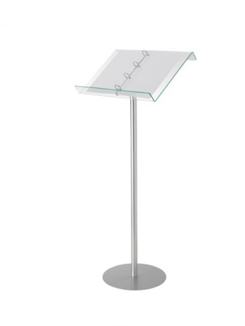 lectern floor stand with ringbinder