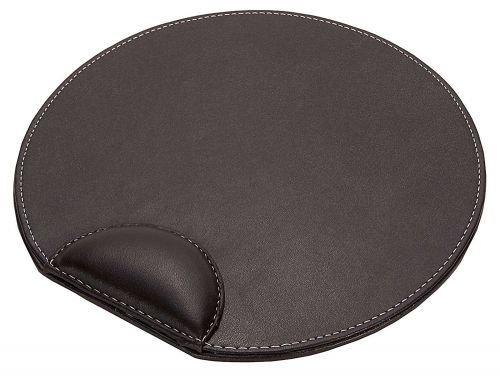 Faux Leather Mouse Pad Brown