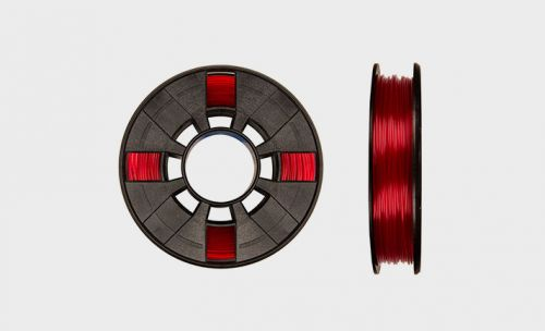 MakerBot  Filament PLA Sml  Translucent Red