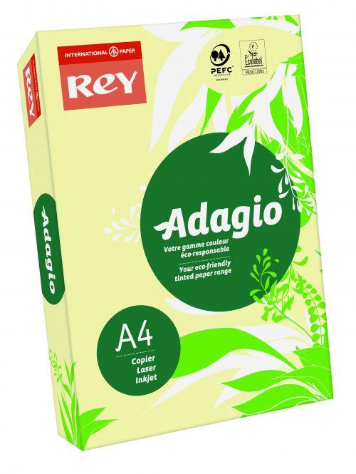 Adagio A4 80gsm Canary RM500 PROMO