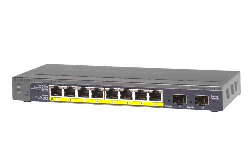 Netgear GS110TP Managed 10PT GE Smart Switch