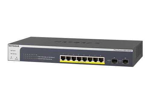 8 Port PoE Gbit Smart Switch with 2x SFP