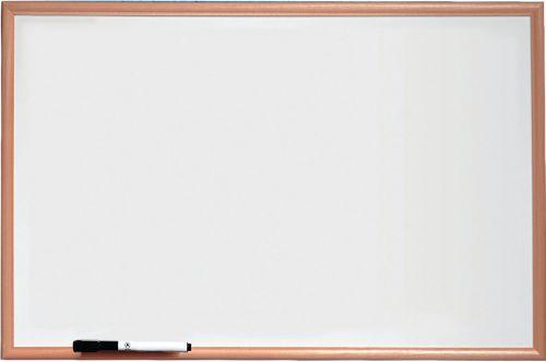 Nobo Basic Melamine Pine Frame Whiteboard 600x400mm