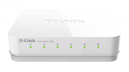 D Link5 Port Gigabit Desktop Switch
