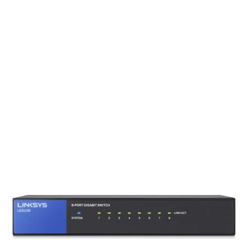 Linksys 1GB Unmanaged 8 Port Network Switch
