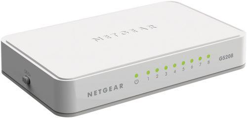 Netgear GS208 Unmanaged Gigabit Ethernet 8 Port