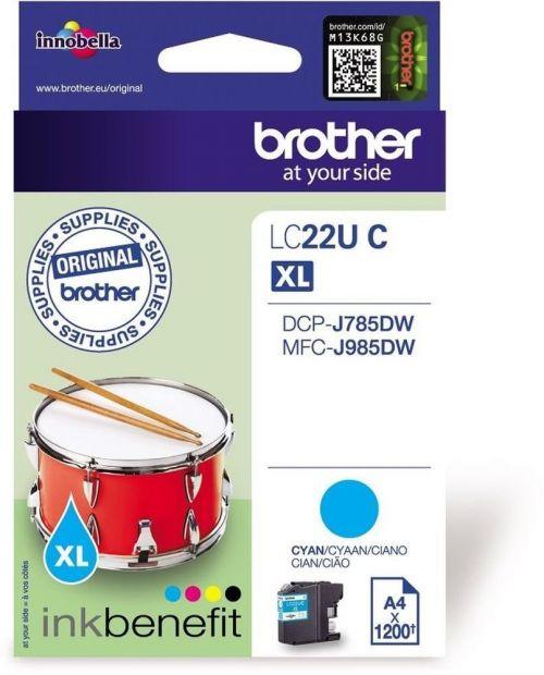 Brother LC22UC Cyan Ink 15ml